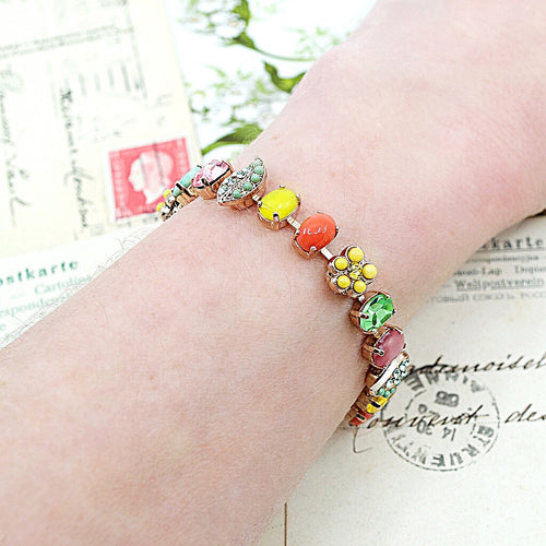 Colorful Crystal Bracelet by AMARO