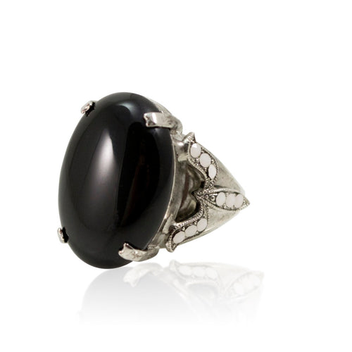 Onyx Statement Ring by AMARO