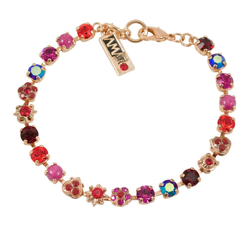 Red Swarvoski Crystal Bracelet by AMARO