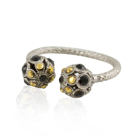 Tiger's Eye Stackable Ring by Eric et Lydie