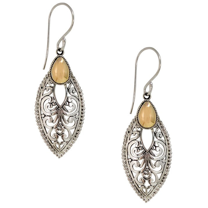 Traditional Balinese Filigree Silver and 18K Gold Earrings – JJ ...