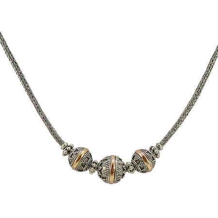 Murano Handblown Lead Crystal Necklace