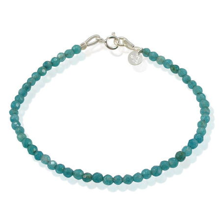 Buddha Light Blue Agate Bracelet - One Size Fits Most