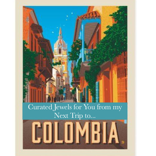 Colombia Box - Curated Jewels for You - Exclusive LIMITED and UNIQUE Opportunity