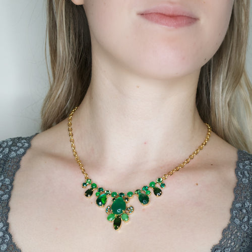 Stunning Green Stone Necklace by AMARO