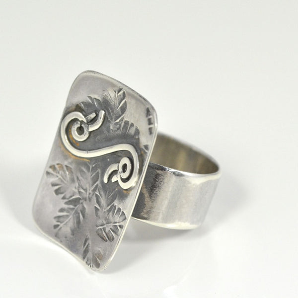 .950 Sterling Silver Harmony Ring