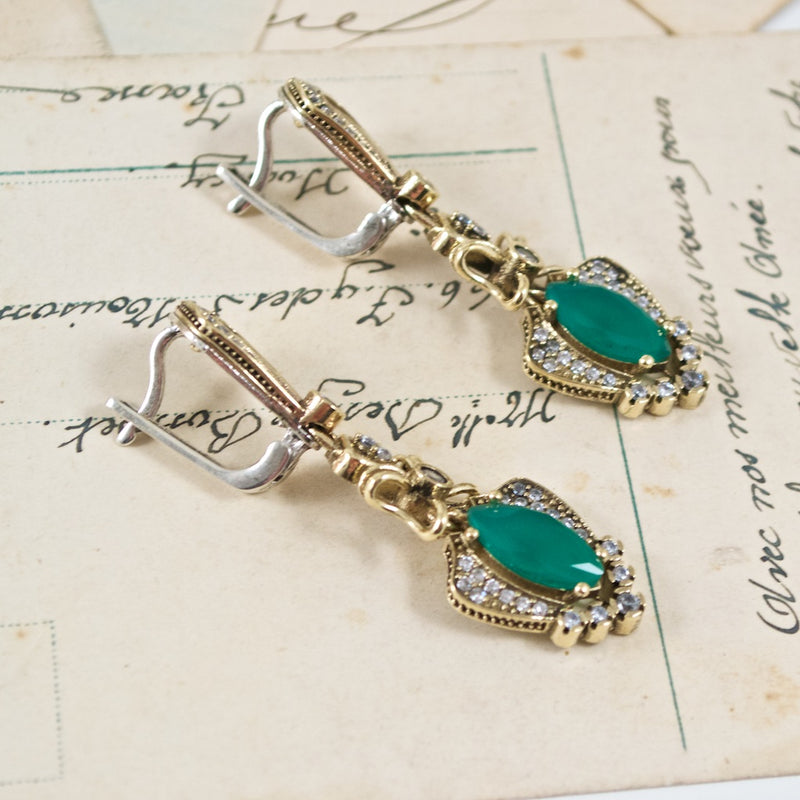Vintage Inspired Ottoman Turkish Earrings