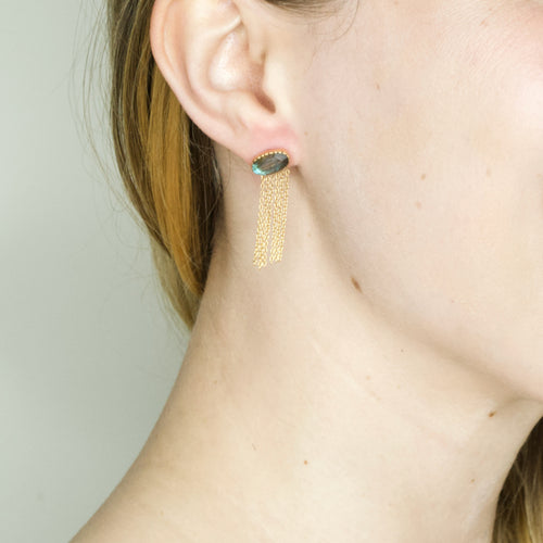 "Embroidered and Beaded ""Calavera"" Cuff Bracelet"