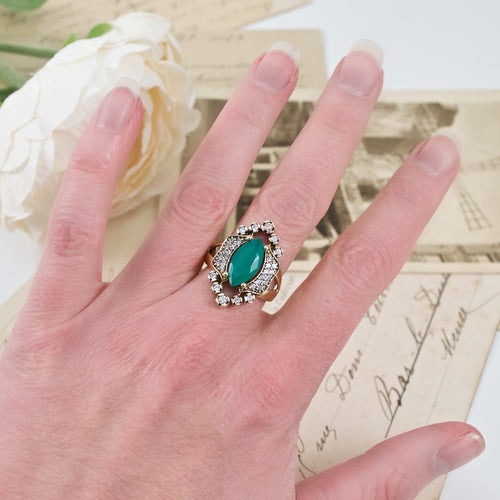 Turkish Vintage Inspired Ring - Size 8.5