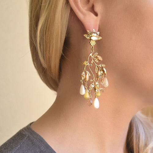 Stunning Illumination Earrings by AMARO
