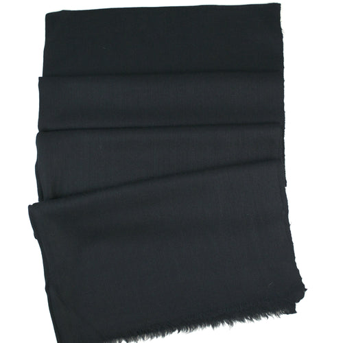 Luxe Handwoven Cashmere Pashmina - Black