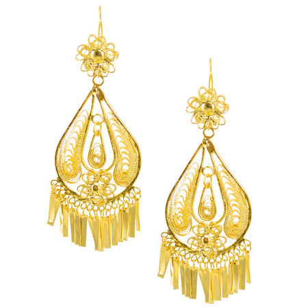 Crystal Drop Earrings by AMARO