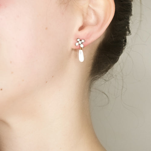 Sweet Flower Post Earrings by Eric et Lydie