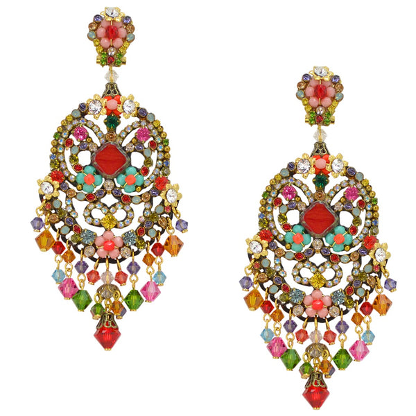 Colorful Drop Earrings by DUBLOS