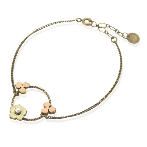 Circle Bouquet Bracelet by Eric et Lydie