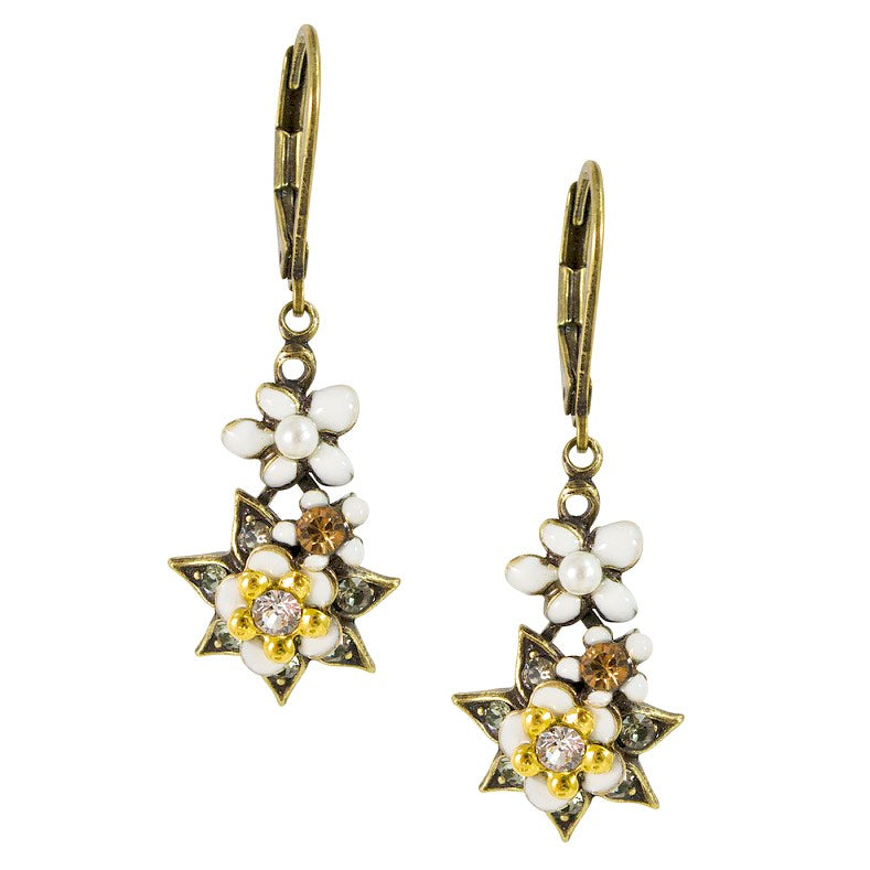 Bouquet Drop Earrings by Eric et Lydie