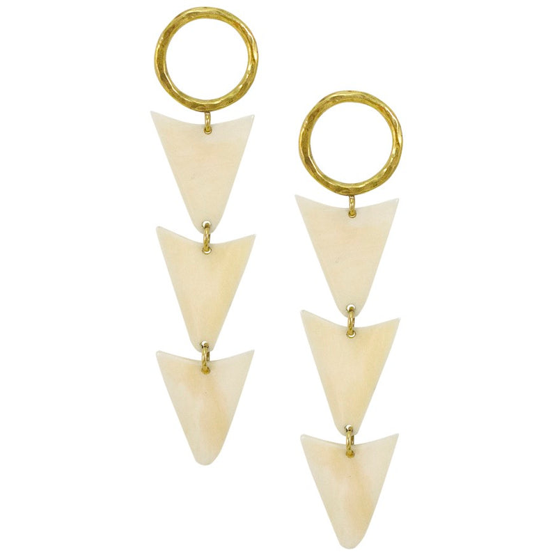 Cosmo 3 Stack Earrings