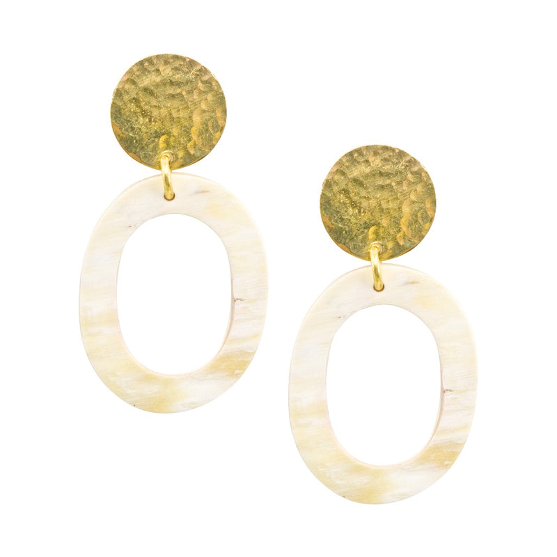 Cosmo Bone Earrings
