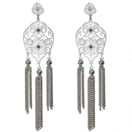 Elegant Chain Earrings by LK Designs