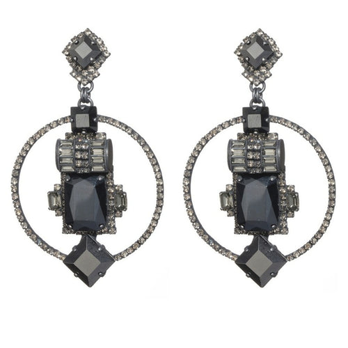 Glamour Deco Earrings by LK Designs