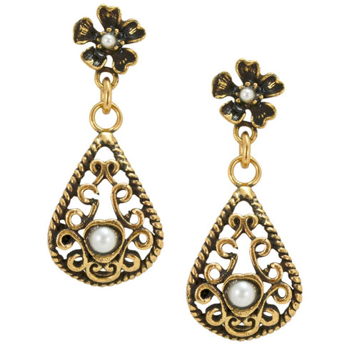 Lace Filigree Earrings