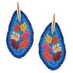 Embroidered Mexican Earrings