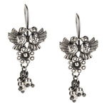 Sterling Silver Mexican Love Bird Earrings