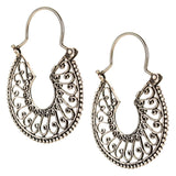 Sterling Silver Mexican Filigree Earrings