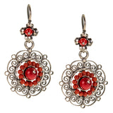 Frida Kahlo Filigree Earrings