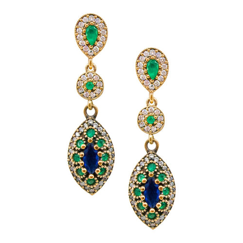 Vintage Inspired Ottoman-Turkish Earrings