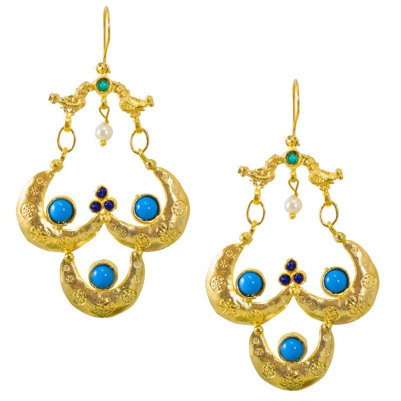 Ottoman Inspired Earrings