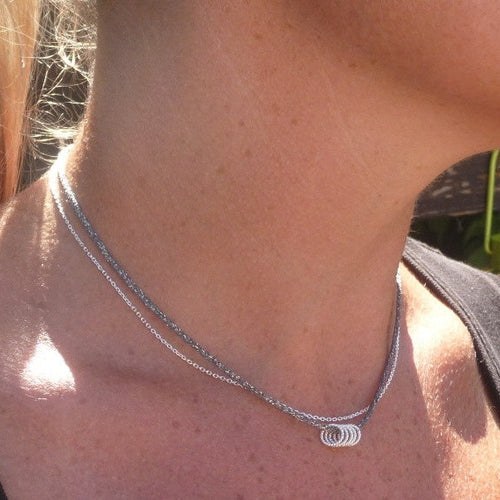 Silver Passerinette Necklace by CLO&LOU