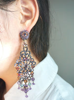 Mosaic Pendant Earrings by DUBLOS