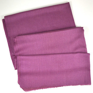 Luxe Handwoven Pashmina - Purple Cashmere Scarf