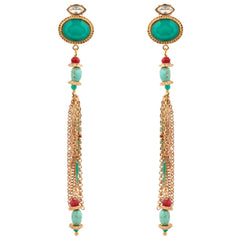 Midnight Diva Earrings by Satellite Paris