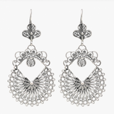 Arrecadas Sterling Silver Filigree Earrings