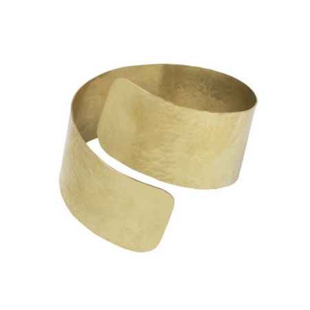 Hammered Brass Ring - Size 4