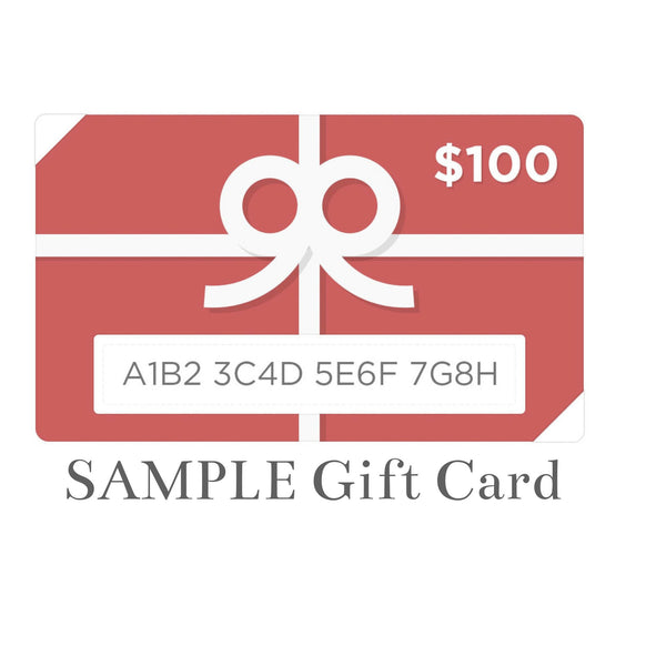 $100 JJ Caprices eGift Card