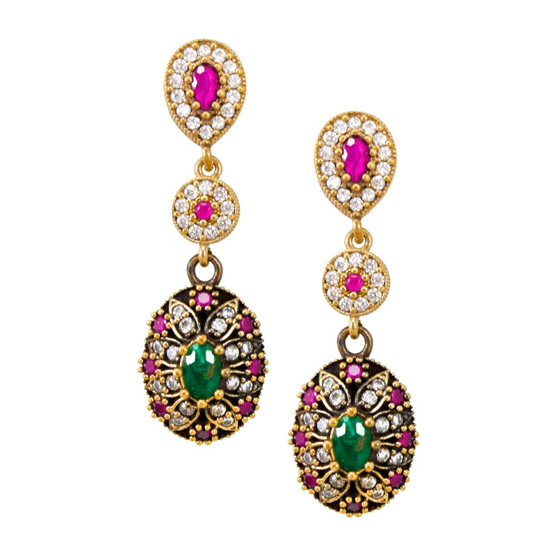 Vintag-Inspired Turkish Earrings