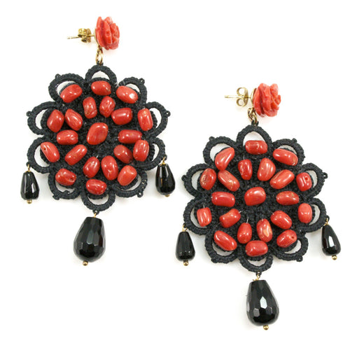 Crochet Earrings by AD Gioielli