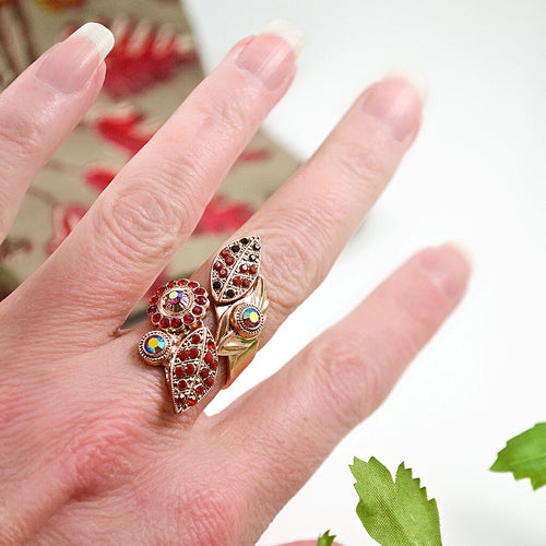 Ruby Red Ring by AMARO