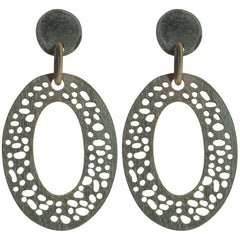 Organic Artisan Horn Earrings