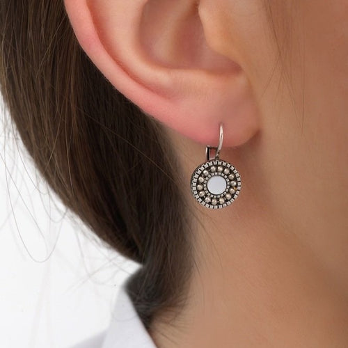 **PRE-ORDER** Dainty Silver Drop Earrings by Satellite Paris