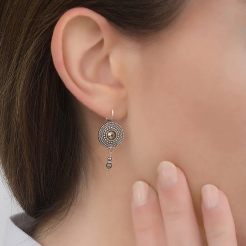 **PRE-ORDER** Elegant Silver Drop Earrings by Satellite Paris