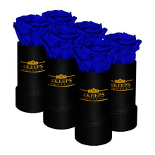 Load image into Gallery viewer, 6 BLUE VIOLET ROSES