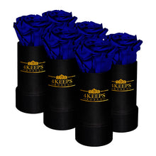 Load image into Gallery viewer, 6 ROYAL BLUE ROSES