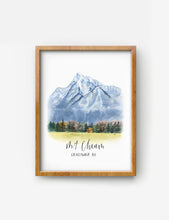 Load image into Gallery viewer, Mt. Cheam on bamboo paper