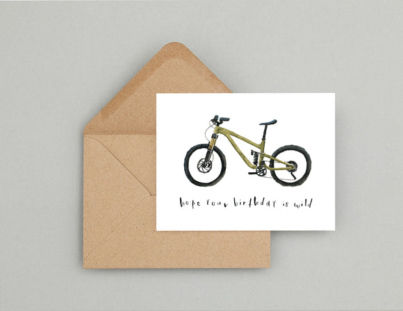 Mountain bike birthday