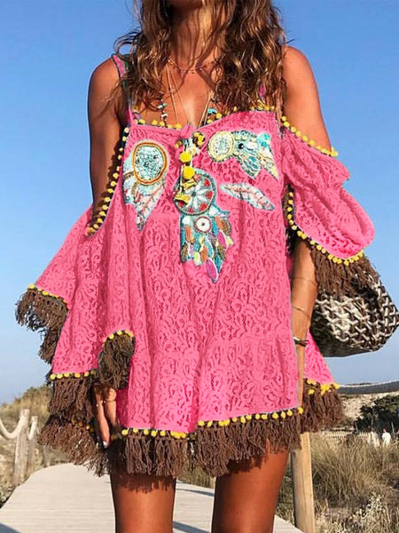 Sundress 1 Boho Dresses Off Shoulder Boho Dresses