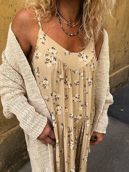 Casual Outdoor Casual Cotton Dress